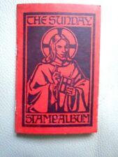 Vintage collectable the Sunday Stamp Album religion faith rare 1950-1951