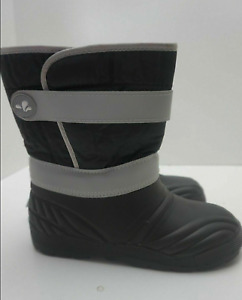 MUDDY PUDDLES SPORTY SNOW BOOTS BLACK SIZE UK KIDS  7 8 8.5 9 10 11 12 13 1 2 3