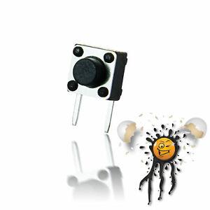 5 x Mini Taster Micro Button Switch 90 Grad 2-polig 6x6 mm 4.2-12 mm Arduino DIY