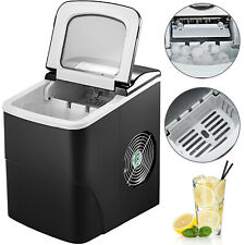 Portable Ice Maker Countertop Bullet Ice Cube Size LCD Screen with Ice Scoop