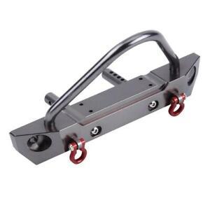 Aluminium Alloy Front Bumper for Axial SCX10 Jeep Wrangler 1/10 RC Crawler Car ❤