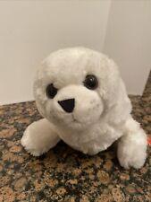 "17"" Wild Republic White Baby Seal soft Plush Stuffed Animal toy sea ocean pup"