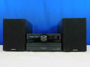 Panasonic SC-PMX94EG-K Micro HiFi System 120W RMS DAB+ CD Bluetooth USB AUX