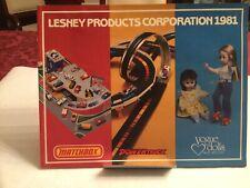 "ORIGINAL 1981 LESNEY PRODUCTS TOY DEALER 40 PG 11"" x 8-1/2"" CATALOG MATCHBOX +++"