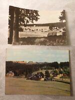 AK 2 x alte Ansichtskarte Steinbach bei Johanngeorgenstadt Sachsen
