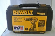 DeWalt 20-Volt MAX Lithium-Ion 1/2 In. Compact Cordless Drill Kit
