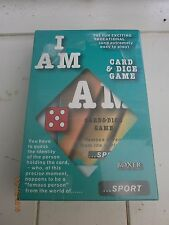 I Am.. card and dice game sport by  boxer games