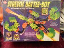 NOS 1994 - STRETCH BATTLE-BOT - ADVANCED STRETCHING EXO-SKELETON - CAP TOYS