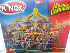 K'Nex Musical Carousel with prancing horses and motor, 720 pieces, very colorful