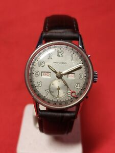Movado triple date, vintage rare watch, nice condition!