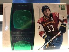 2010-11 DUSTIN BYFUGLIEN BASE CARD EMERALD 5/5 DOMINION PANINI