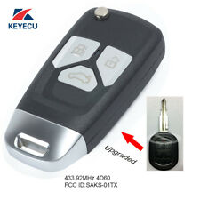 Upgraded Remote Key Fob 433.92MHz 4D60 for Chevrolet Optra Lacetti SAKS-01TX