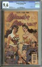 WONDER WOMAN #184 CGC 9.6 WHITE PAGES