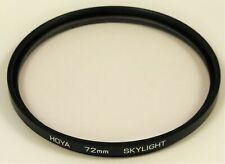 Hoya 72mm Skylight Lens Filter - Used