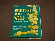 VINTAGE 1980 FRIEDBERG GOLD COINS OF THE WORLD BOOK 5th EDITION