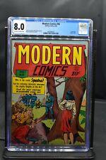 Modern Comics #96 CGC 8.0 Quality Comics 1950 Golden Age Blackhawk HIGH GRADE