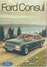 Ford Consul European Factory issue postcard