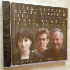NIELS HENNING ORSTED PEDERSEN TRIO CD FRIENDS FOREVER MCD-9269-2 1997 JAZZ