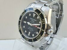 CERTINA 1888 DS ACTION DIVER´S AUTOMATIC WATCH STAINLESS STEEL 316L 200 W.R.