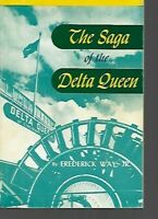 P2 - Vintage Book - The Saga of the Delta Queen, by Frederick Way, Jr.