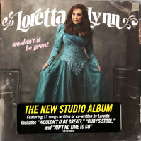 LORETTA LYNN Wouldn't It Be Great CD Sealed NEW 2018 Country Legend FREE SHIP !