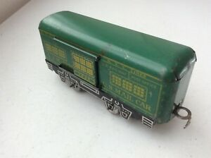 MARX 4-WHEEL NEW YORK CENTRAL US MAIL CAR #1935 WITH JOY LINE COUPLER'S