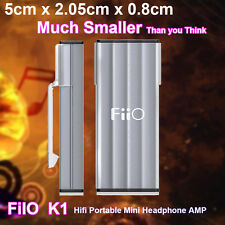HIFI Stereo Audio Amp FiiO K1 Portable Headphone Amplifier AMP & DAC PCM 24bit