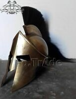 300 Movie Spartan King Leonidas Medieval Helmet Greek Roman Worrier Costume Gift