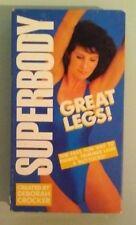 deborah crocker superbody super body GREAT LEGS      VHS VIDEOTAPE
