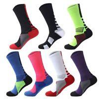 Long Socks Men Sports Cotton Socks Basketball Badminton Cycling Casual Socks