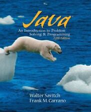 Java: Introduction to Problem Solving and Programming (5th Edition)-ExLibrary
