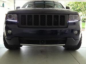 LED DRL Head Light Strips Daytime Running Lamps Kit for Jeep Grand Cherokee