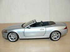 Paul's Model Art MINICHAMPS Jaguar XK Convertible silver 1:18 scale 1/18 diecast