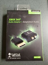 Turtle Beach Xbox 360 Audio Adapter - 0.2M / 0.9FT Gaming Audio Accessory NEW