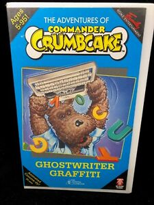 THE ADVENTURES OF COMMANDER CRUMBCAKE VHS – GHOST WRITTER GRAFFITI