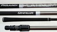 TaylorMade Grafalloy Platinum REGULAR LONG DRIVE DRIVER SHAFT+M1,M2,M3,M4,R15,R1