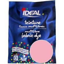 Teinture ROSE pour tissu textile linge vêtement IDEAL 15 g multifibres