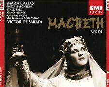 Verdi: Macbeth by Maria Callas, Enzo Mascherini, Victor de Sabata (2 CD Set)