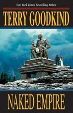 NAKED EMPIRE by Terry Goodkind 1st Print 1st Edition (Hardcover) - FREE SHIPPING