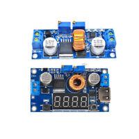 XL4015 LED Step down Voltmeter Drive Lithium Charger Module W/ USB Port 5A CC CV