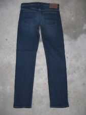 Quiksilver Jeans Slim Straight Skinny Leg w Stretch Dark Blue Sz 29 X 31