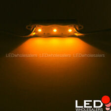 12V 5-ft String of 10 Water-Resistant LED Modules, Each with 3xSMD2835 (2-Pack)
