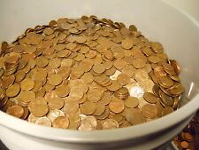 200 LBS Copper Bullion Pennies 1959-1982 US Cents by the Pound W/ Wheat Backs &.