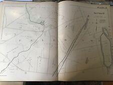PENNSYLVANIA UNION CEMETERY COPY PLAT ATLAS MAP 1891 RIEGELSVILLE BUCKS COUNTY