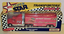 Tracy Leslie #72 Detroit Gasket (BGN) 1995 1/87  Matchbox Super Star Series II 1