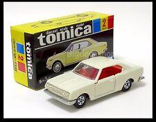 TOMICA BLACK BOX #2 TOYOTA CORONA MARK II 1900 HT.SL 1/62 TOMY DIECAST CAR