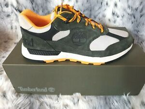 NEW TIMBERLAND FIELD TREKKER LOW HIKING MEN'S SUEDE TRAINERS SIZE UK 9.5 RRP£100