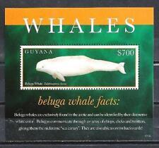 Guyana 2012 baleines bloc n° 547 neuf ** 1er choix
