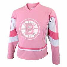 NHL Official REEBOK Replica Fashion Pink White Jersey Infant Toddler Girls Youth