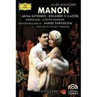 "JULES MASSENET ""MANON"" 2 DVD NEU"